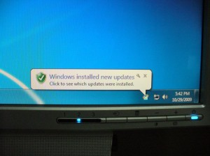 Windows Updateされる